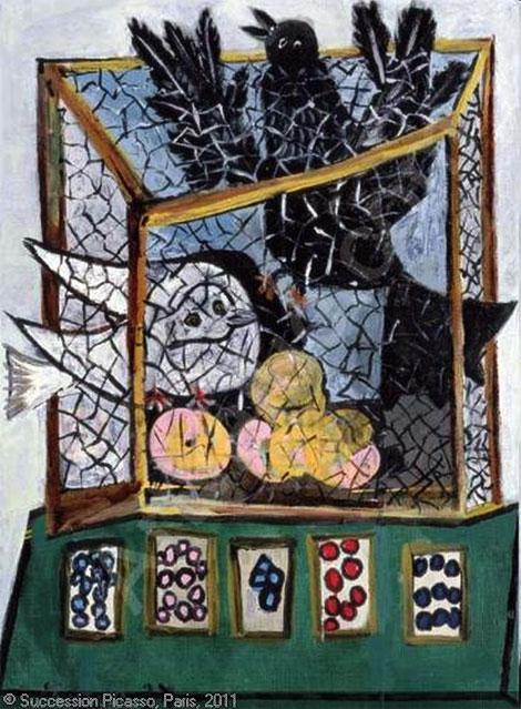 Pablo-Picasso_Oiseaux-dans-une-cage_1937